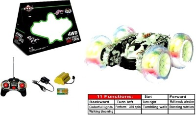 Sunflower Products 4 Wheel Drive High speed 360 Degree Spin