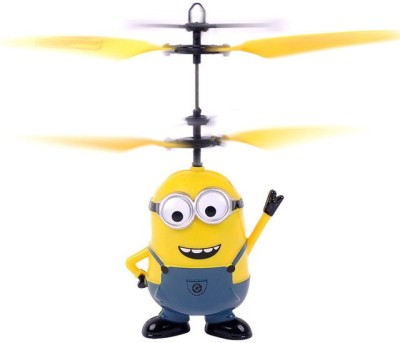 ToysBuggy New Flying Despicable Me 3 Minion Induction Control Aircraft