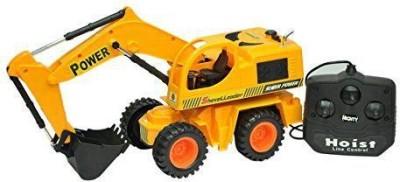 Rey Hawk Shovel Loader Remote Control Jcb Truck (yellow)