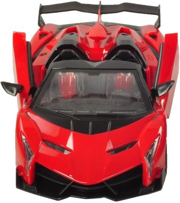 RIANZ Remote Controlled Red Lamborghini with opening doors 1:14