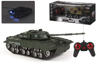 ToysBuggy Remote Control 1:32 New Military War Tank
