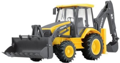 New Ray Volvo K012 Volvo Controlled Backhoe Loader