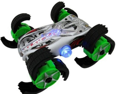 A2b Vit Night Dispatcher Remote Control Rc Stunt Car With Perform Flips, Wheelies, Spins With Claw Wheels