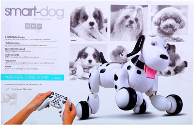 Indiakaapna Remote Control Smart Dog With Interactive Sounds