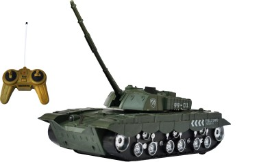 Taaza Garam Kids Imported High Quality RC War Remote Control Tank - Gift Toy