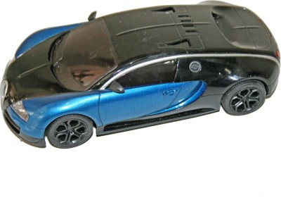 Adraxx 1:18 Scale Die Cast RC Collector Car Toy(Blue, Black)