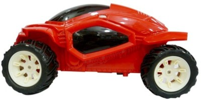 Ruppiee Shoppiee Bounce Back Flip Stunt Car Red
