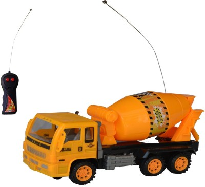 Taaza Garam RC Cement Mixer Construction Remote Control Truck - Gift Toy