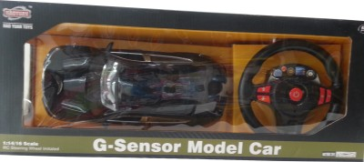 Next Gen G-Sensor Model Car