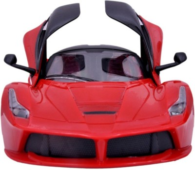 GME Ferrari type supercar with remote and butterfly opening doors red