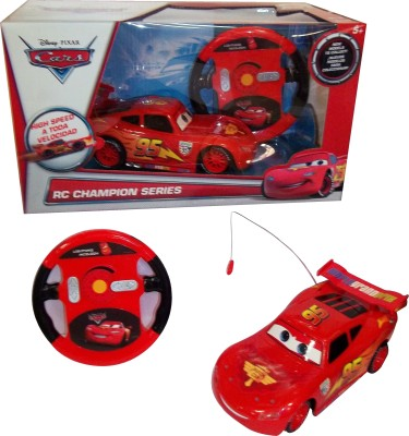 Majorette Disney- Cars 2, 1:24, Lighting Mc Queen