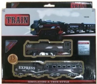Dhriti Sales Corporation Battery Operated Train Set With Head Light