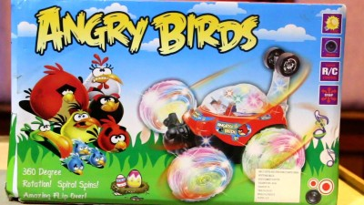Khareedi Angry Birds Rechargeable Stunt Car