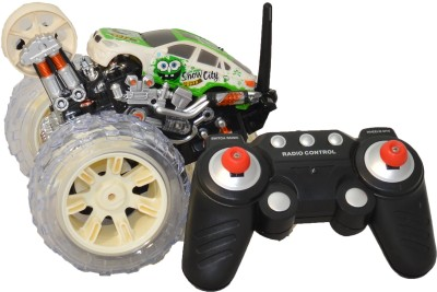 Mera Toy Shop 9 Functional Single Wheel Rotary Car