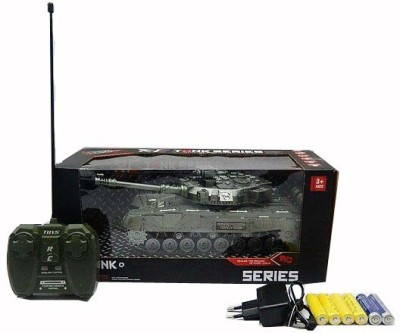 Shop & Shoppee Rechargeable Remote Control Military Battle Tank