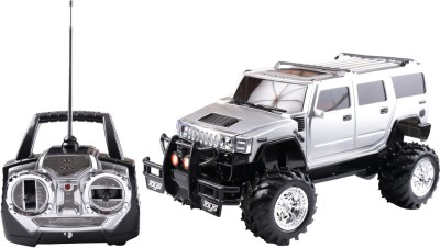 WebKreature Radio Control Extreme Rock Crawler Monster Hummer - Silver / Black / Red