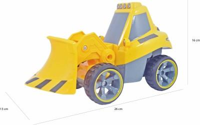 Babysid Collections Remote Control Road Construction Truck- Bulldozer - 26cm x 13cm x 16cm