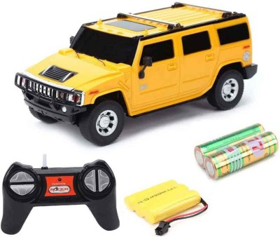 Fantasy India 1:24 Rechargeable Toy Car Hummer (yellow)