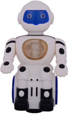 RREnterprizes Battery Operated Robot With Light & Music Toy for Kids
