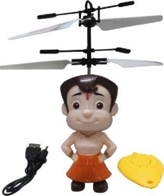 KCT Chhota Bheem Flyer with Remote + best gift for 8+ Age groups kids