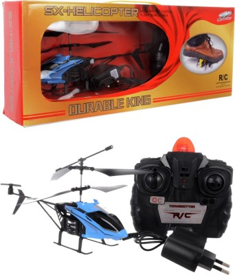 Per Te Solo Durable King Sx Toy Helicopter Multi Color