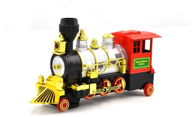 Mera Toy Shop Train Engine w Smoke - Locomotive