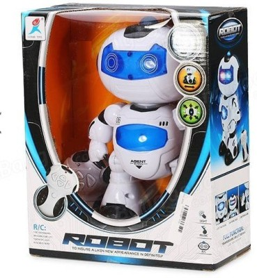 RIANZ Remote Control Electric Musical and Dancing Intelligent Robot with 3D light and amazing Sounds for Kids