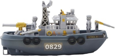 ZOLU Sailable Patrol boat battery operated