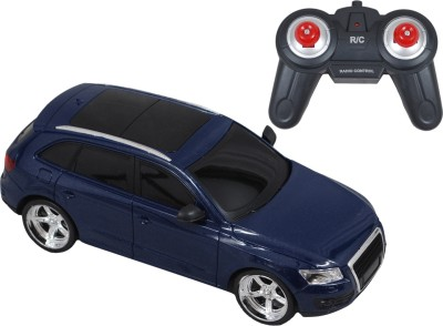 Brunte 1:18 Blue City Remote Car With Rechargeable Battery