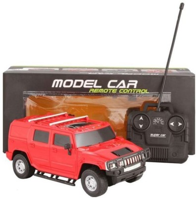 Cuddles collections Rc Rechargeble Toy Car H2 Suv(Red)