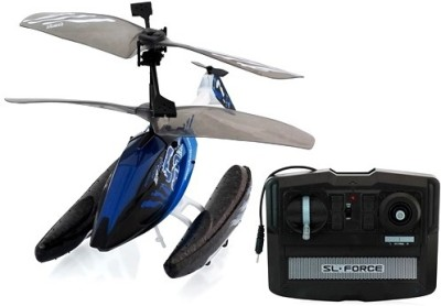 Silverlit Hydrocopter((3 CH + Gyro)-Takes off from land & water & also lands on both(Blue(Multicolor))