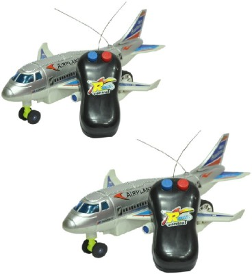 New Pinch Remote control toy plane (Running, Not Flying) pack of 2