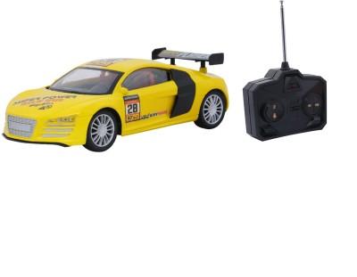 Emob Fully Loaded Yellow Radio Control Car Sports Model