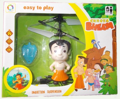 VK Agencies Chhota Bheem with Flying Sensor,and USB Charging