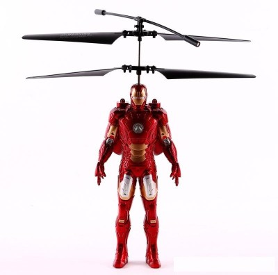 ToysBuggy Flying Avengers Iron Man Induction Control Aircraft