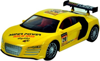 Montez Furious Yellow Remote Control Car