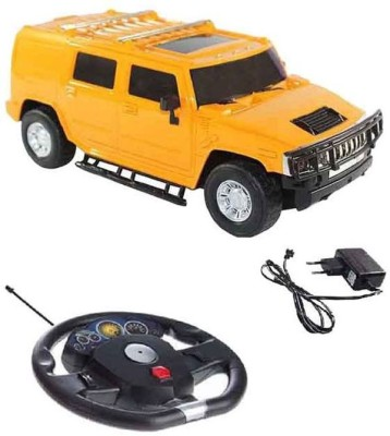 A R ENTERPRISES Yellow Rechargeable Remote Control Hummer Car