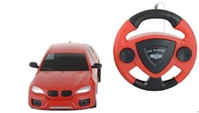 Rey Hawk R/C Scale Jakmean With Steering Car (Red)
