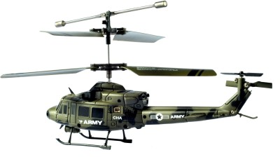Udirc Army Helicopter – 3.5ch Channel Helicoper | Gyro Ir Rc Radio Remote Control Helicopter