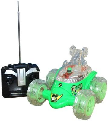 Rey Hawk R/c 360* Rotating Ben 10 Car (Green)