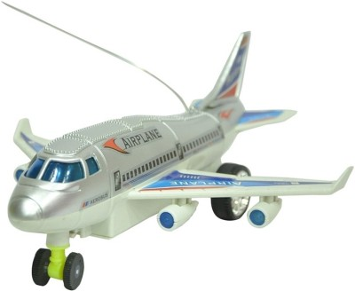 Shop & Shoppee Remote Aeroplane 2 Channel Radio Control (Running, Not Flying)