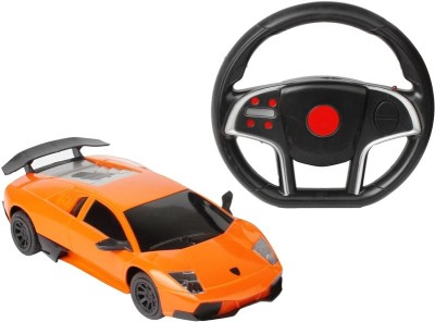 Sunflower Products Gravity Sensing Recharable Remote Control Car-Orange