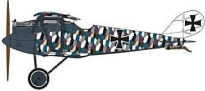 Encore Models Blue Max Pfalz D.III Econo-Kit(Multicolor259)