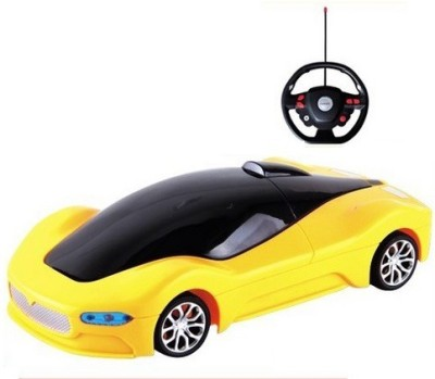 Colors Inc. Bounce Rollover Stunt Car with Steering Wheel
