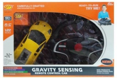 Unica Gravity Sensing 1:22 Remote Control Rechargeable Car With Steering