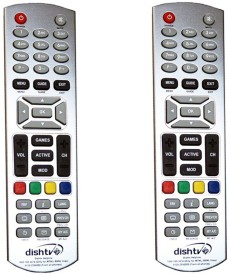 Skykart DishTV Noraml Remote Controller Combo Of 2 Remote Controller