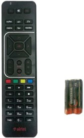 Airtel DIGITAL TV Recording + AA/AAA battery Remote Controller