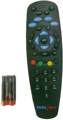 Tata Sky Black Remote Controller