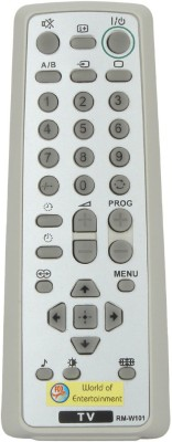 Fox Micro Fox Micro Remote Suitable For Sony Colour Tv W101 Remote Controller(Grey)