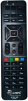 LRIPL DTH REMOTE Compatible for AIRTEL DTH with Learning Remote Controller(BLACK)